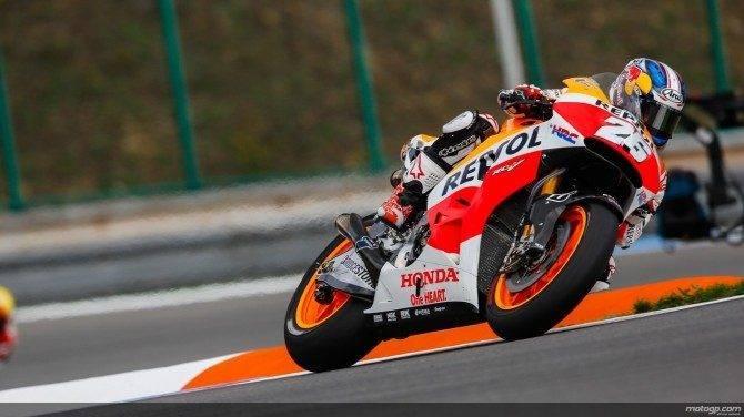 26: Dani Pedrosa tok sin 26. MotoGP-seier på Brno søndag.