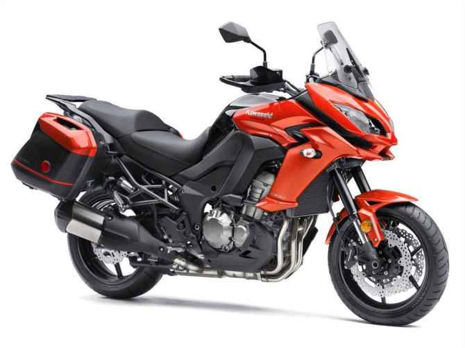 VERSYS 1000: Kawasaki har gjort en rekke oppdateringer på Versys 1000 - blant annet en større kåpe.