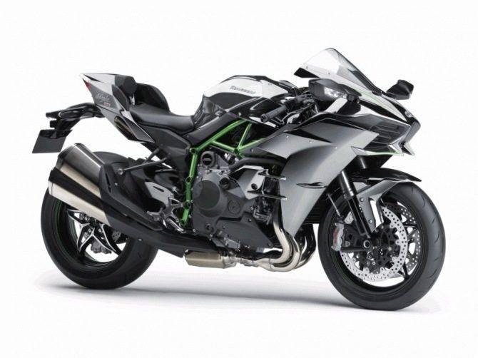 RÅSTERK: Stiv pris på Kawasakis nye H2. Det er antydet 25.000 engelske pund...